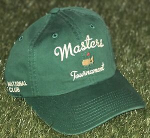 ac9b8770457 Image is loading 2018-OFFICIAL-MASTERS-AUGUSTA-NATIONAL-TOURNAMENT-GOLF-HAT-