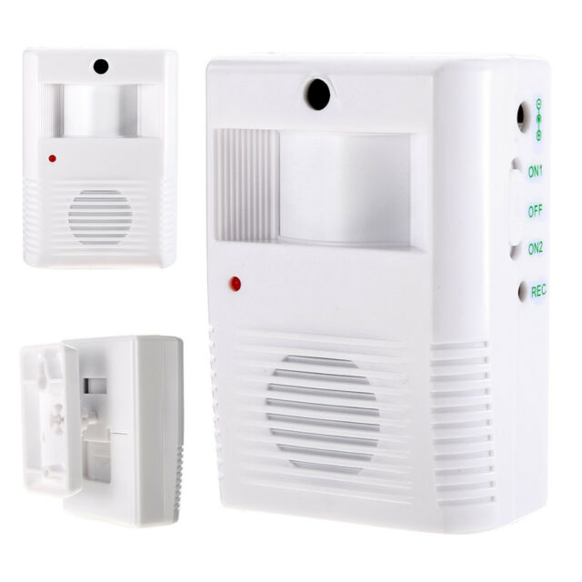 Motion Sensor Wireless Alarm Entry Music Door Bell Home Welcome