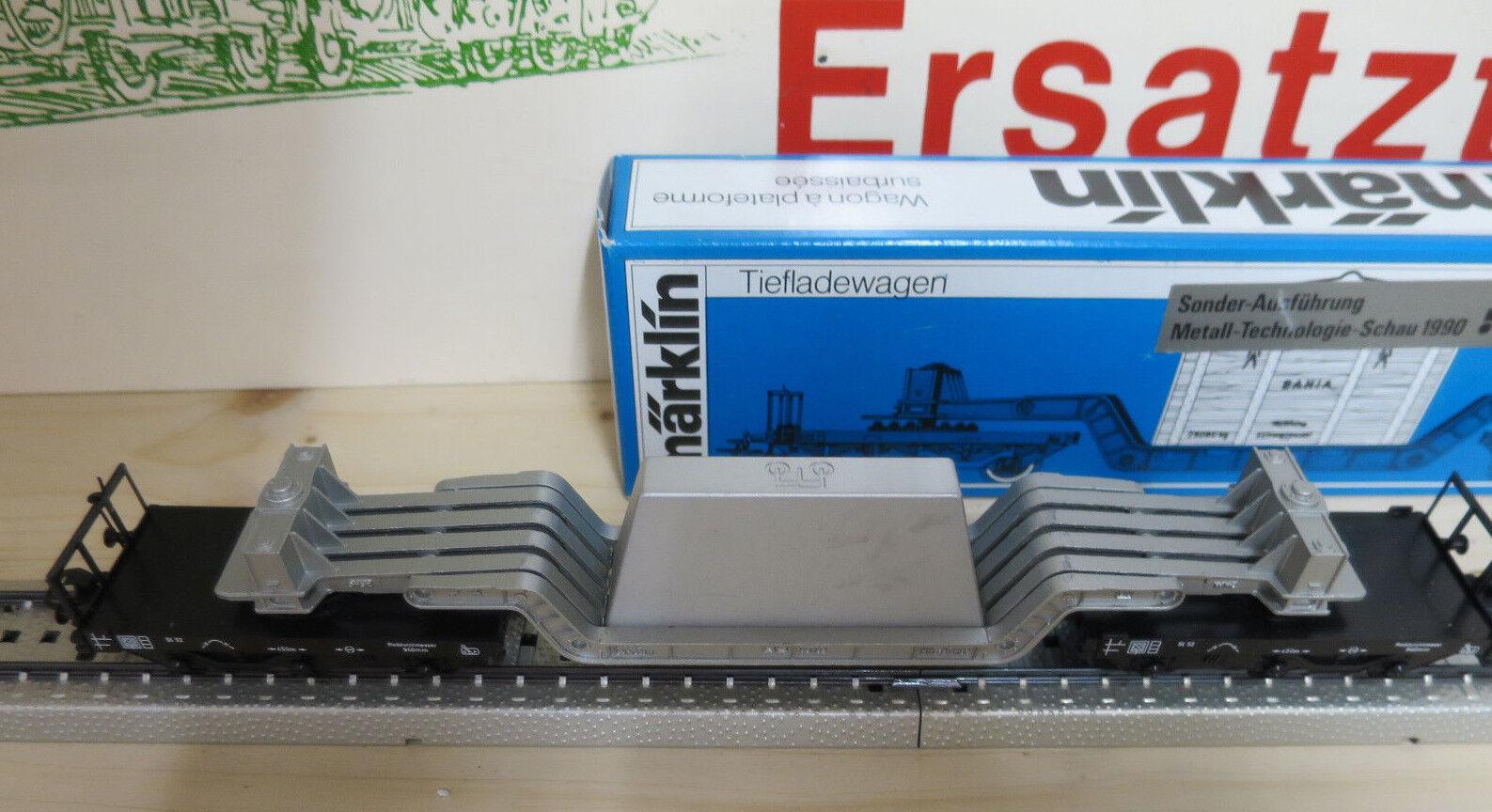 (MB) Marklin 4618 modello speciale tecnologia di metallo guarda 1990 1990 1990 Nuovo Ovp Top 474e8b