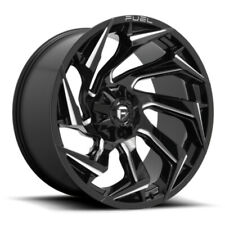 20 Fuel D753 Reaction 20x9 Gloss Black Milled 5x55 5x150 Wheel 1mm Truck Rim Fits More Than One Vehicle