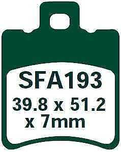 EBC Pastiglie Dei Freni sfa193 ANTERIORE BETA ARK 97-10 LC Models