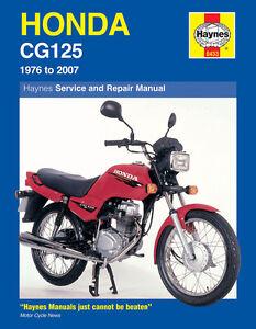 Honda-CG125-1976-2007-Haynes-Manual-0433-NEW