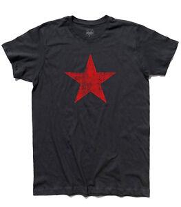 A imagem está carregando Camiseta-Masculina-Stella-Vermelha-Estrela-Vermelha -Vintage-Envelhecido 72501aedaa4