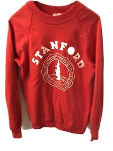 Vintage-1980s-Sweatshirt-Stanford-University-Junior-College-Unworn-Deadstock-New