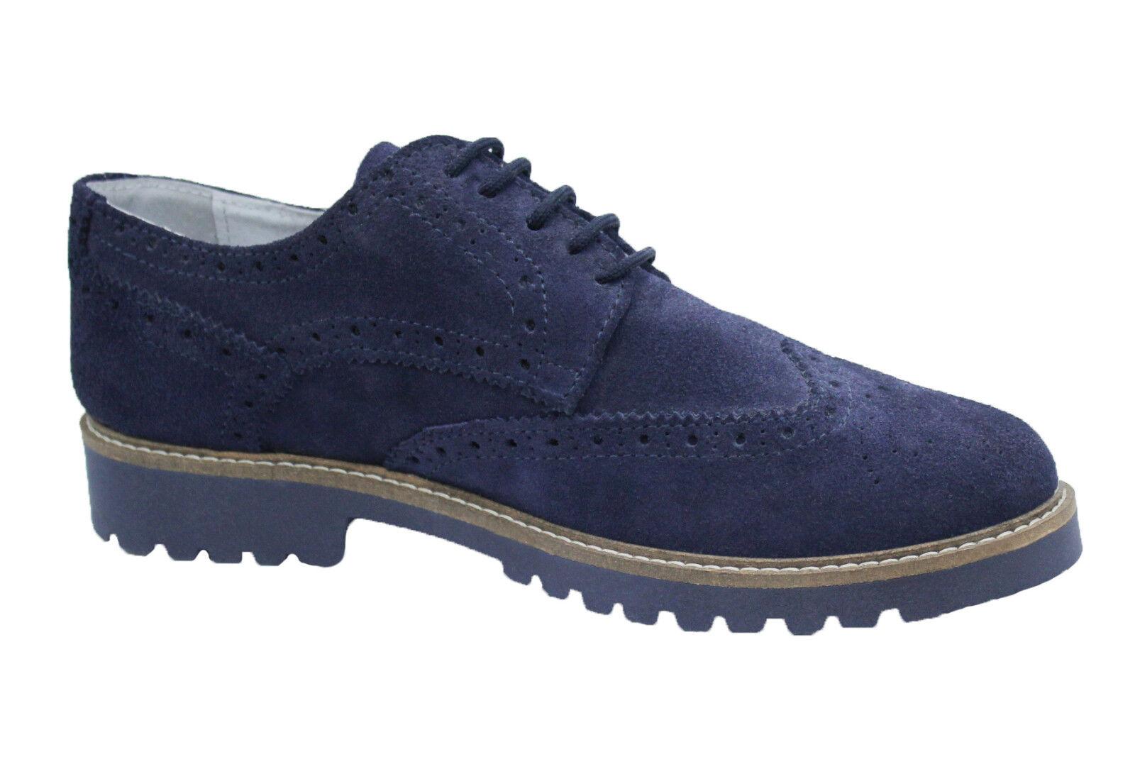 shoes men FRANCESINE ARTIGIANALI blue CAMOSCIO INGLESINE MAN'S SHOES MADE ITALY