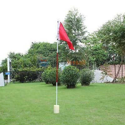 Backyard Outdoor Practice Golf Hole Pole Cup Flag Stick Putting Green Flagstick