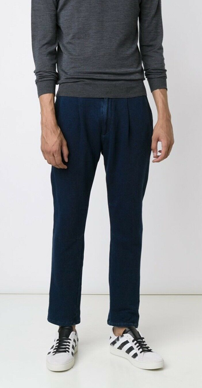 AG Adriano goldschmied Drawstring Jeans Tapered Trousers Size 32