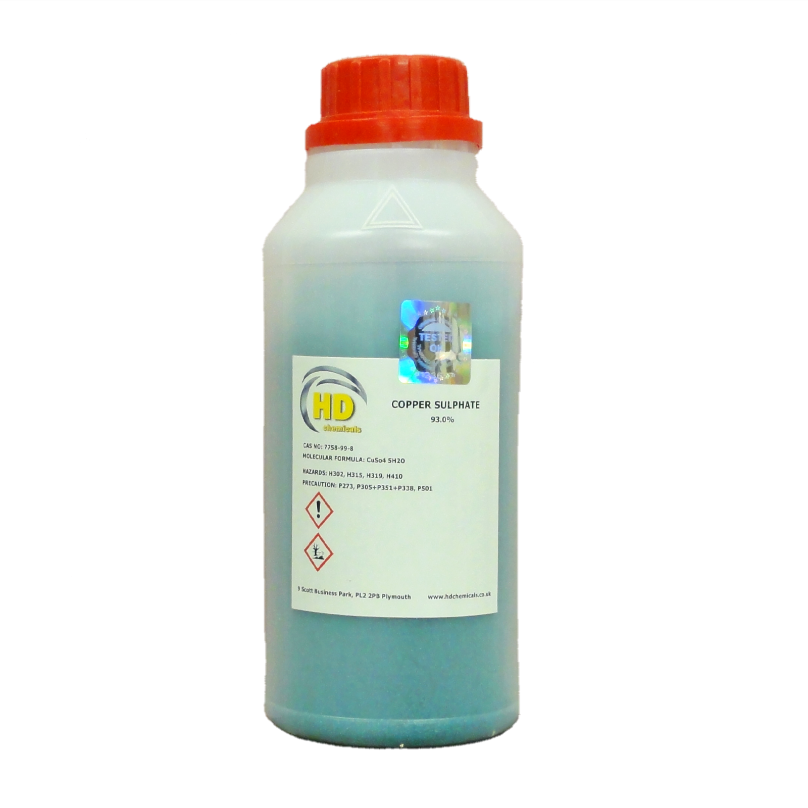 Details about Copper Sulphate * QUALITY PRODUCT * FREE POSTAGE * HDPE  BOTTLE *CRYSTALS *