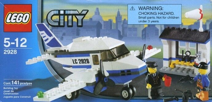 Lego City 2928 Luftlinie Promotion Set Neu Ovp