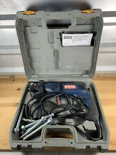 Ryobi D552h 12 Corded Reversible Electric Hammer Drill W Case Ships Free