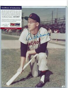 Al-Kaline-Autographed-8x10-Color-Photo-Detroit-Tigers-Baseball-HOFer-PSA-COA-2