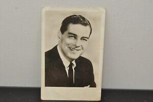 Vintage 1950s' TV Show Host Jack Barry Signed Picture Postcard Autograph