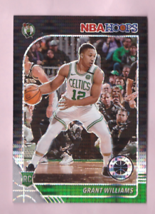 2019/20 Hoops Premium Stock GRANT WILLIAMS Black Pulsar Prizm Rookie SP Celtics
