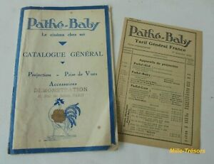 CATALOGUE-General-PATHE-BABY-TARIFS-1933-Pathe-Kid-Pathe-Lux-Motocamera
