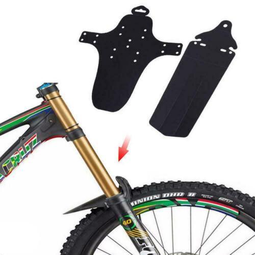 1 Set Cycling Mountain Bicycle Bike Front Rear Fenders Mud Mudguard Guard B8M5