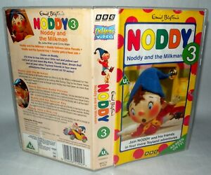 Noddy-and-The-Milkman-Vhs-Tape-amp-Case-Cert-Uc-Collectable-VHS