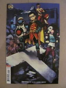 Teen-Titans-20-DC-Comics-1st-Full-app-Crush-Lobo-039-s-Daughter-Variant-9-6-NM