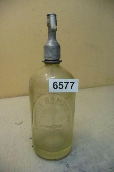 6577. Alte Sodaflasche Siphonflasche 1 Liter Von 1931