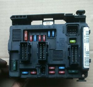 fuse box bsm b3 9650618480 00 peugeot 206 image is loading fuse box bsm b3 9650618480 00 peugeot 206