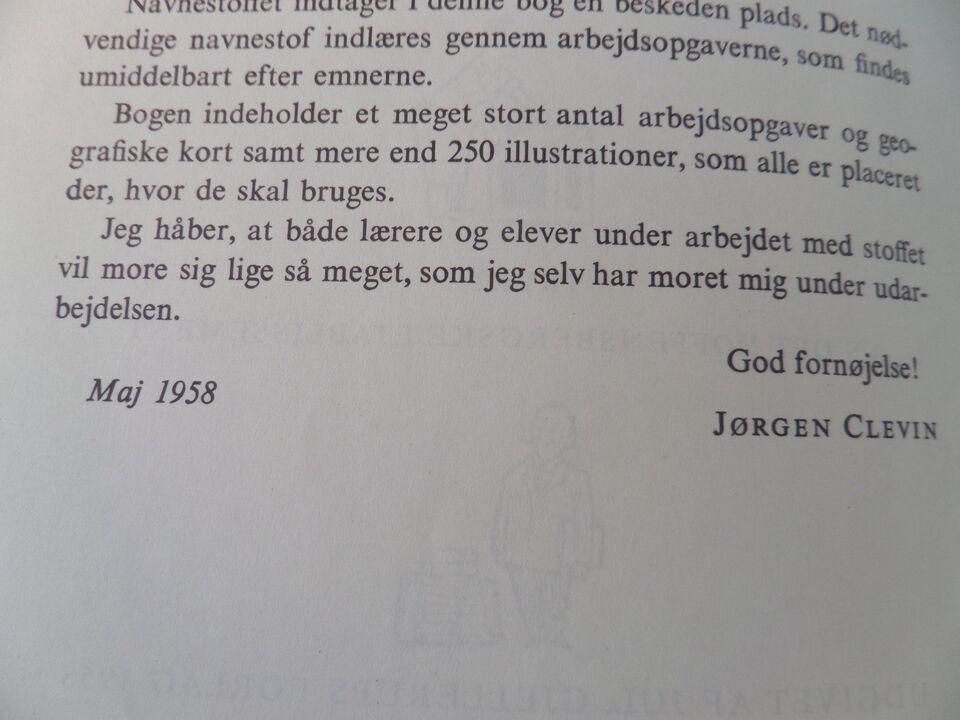 Min første geografi, Clevin, Jørgen