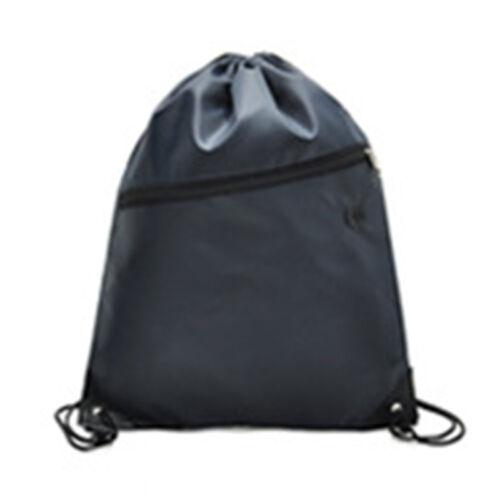 Waterproof School Drawstring Bags Outdoor Sport Gym Sack Swim Casual Backpack