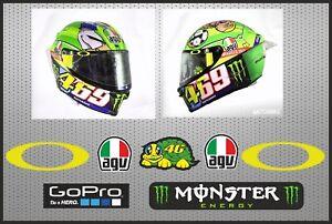 Pegatinas-visera-casco-Valentino-Rossi-stickers-decals-visor-helmet-adhesivos
