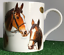 Famous-Racehorses-Red-Rum-Shergar-Nijinski-etc-china-mug-horse-lover-Gift-boxed miniatuur 2