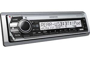 Kenwood-KMR-D772BT-Marine-Boat-CD-WMA-MP3-Player-Bluetooth-Pandora-iHeart-Radio