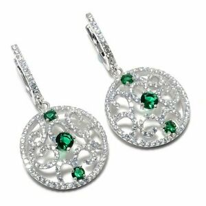 Real-Zambian-Emerald-Earrings-925-Sterling-Silver-Women-Designer-Wedding-Jewelry