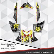 SLED WRAP DECAL STICKER GRAPHICS KIT SKI-DOO REV MXZ SNOWMOBILE 03-07 SA0127B