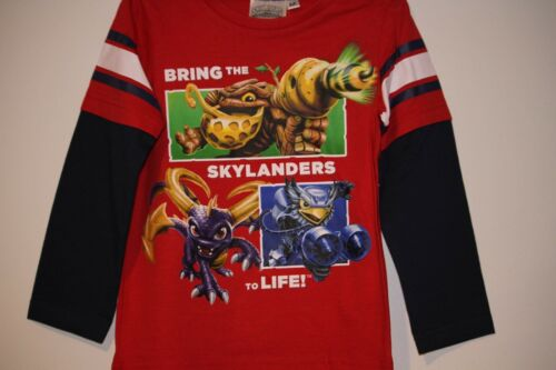 "Skylanders /""bring skylanders to life/"" boys Longsleeve Brand New With Tags"