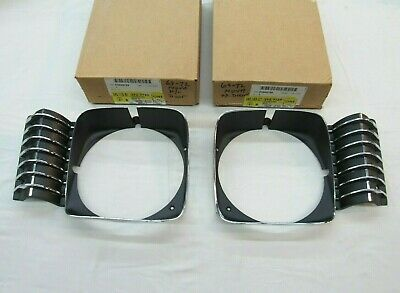 69 70 71 72 CHEVY NOVA LEFT HEADLAMP BEZEL DOOR NEW GM NOS