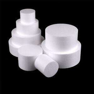 Round-Styrofoam-Foam-Cake-Dummy-Modelling-Sugarcraft-Flower-Wedding-DecorLTA