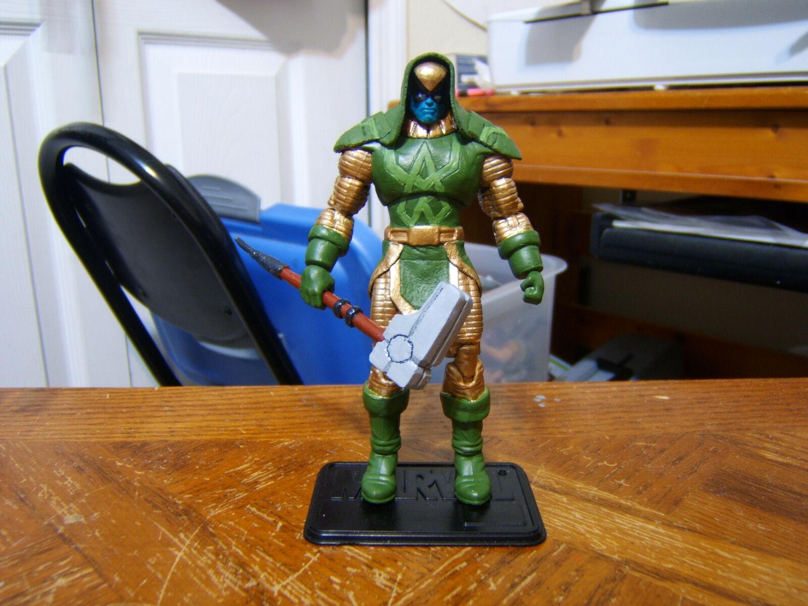 Personalizado 3.75  Marvel Ronan figura-Poseable & hecho a pedido