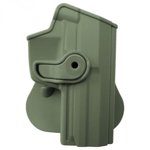 IMI Holster Z1140 H/&K P8 USP Fullsize Holster für Rechtsschützen oliv
