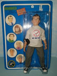 "Al Bundy Married with Children 8"" Action Figure MEGO Style Classic TV Toys HTF"