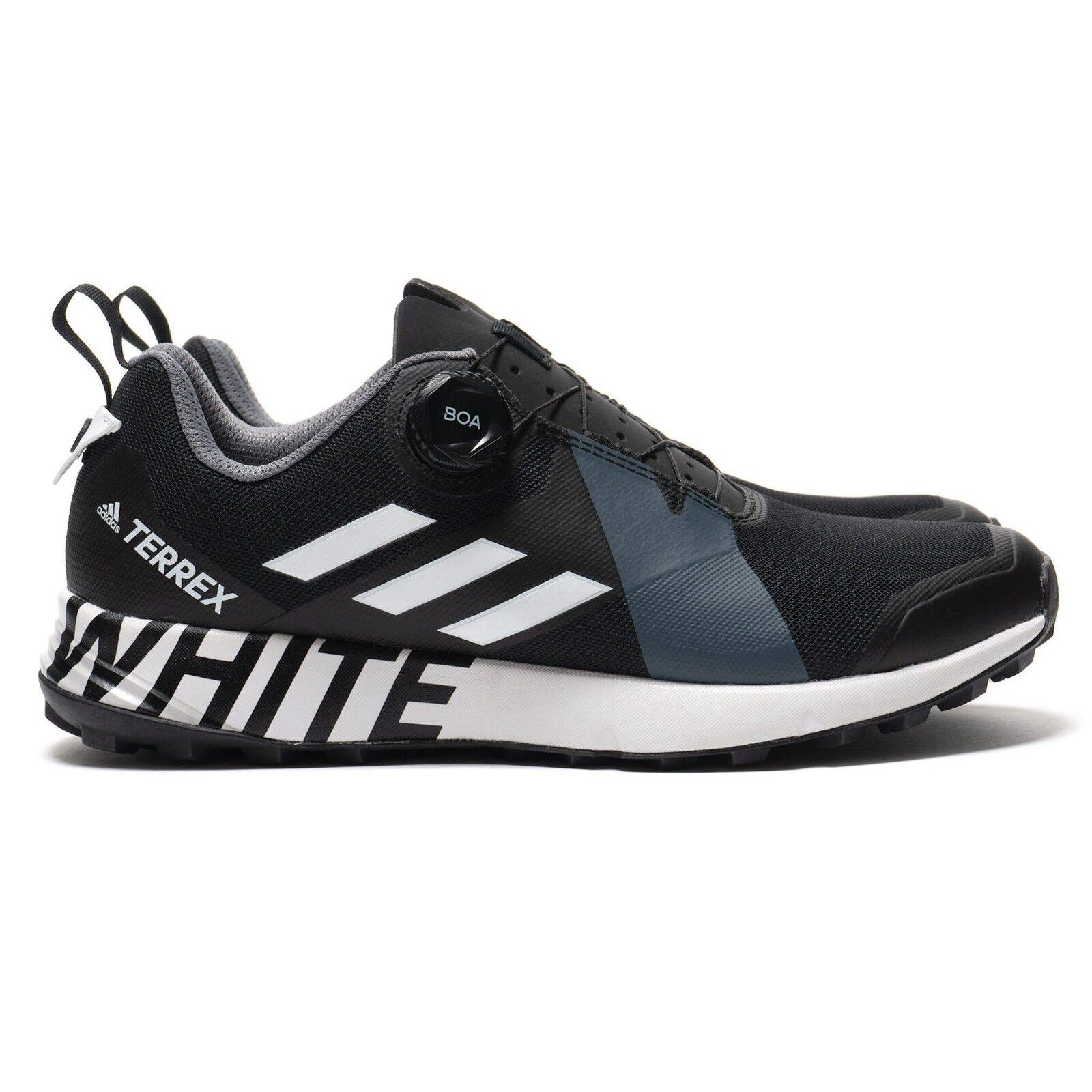 Adidas WHITE MOUNTAINEERING Terrex Two Boa WM Black/White Mens Sizes