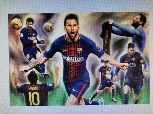 LIONEL MESSI 24X36 POSTER SOCCER FUTBOL FIFA WORLD CUP ARGENTINA BARCELONA SPORT