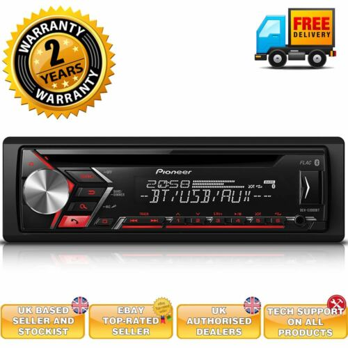 Handsfree car radio with bluetooth built in audio streaming ipod and android.