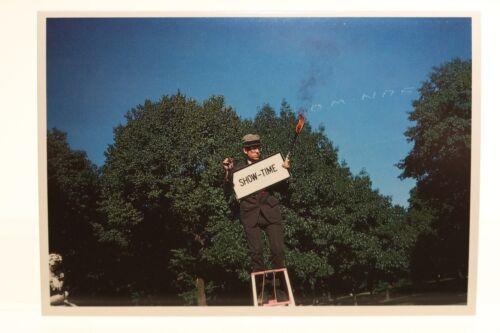 """JEFF MERMELSTEIN New York City,1984 /""""SHOW-TIME/""""  Kunst-Postkarte"""