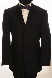 DJ-3 MENS FORMAL SINGLE BREASTED DINNER SUIT 2 PIECE SUIT