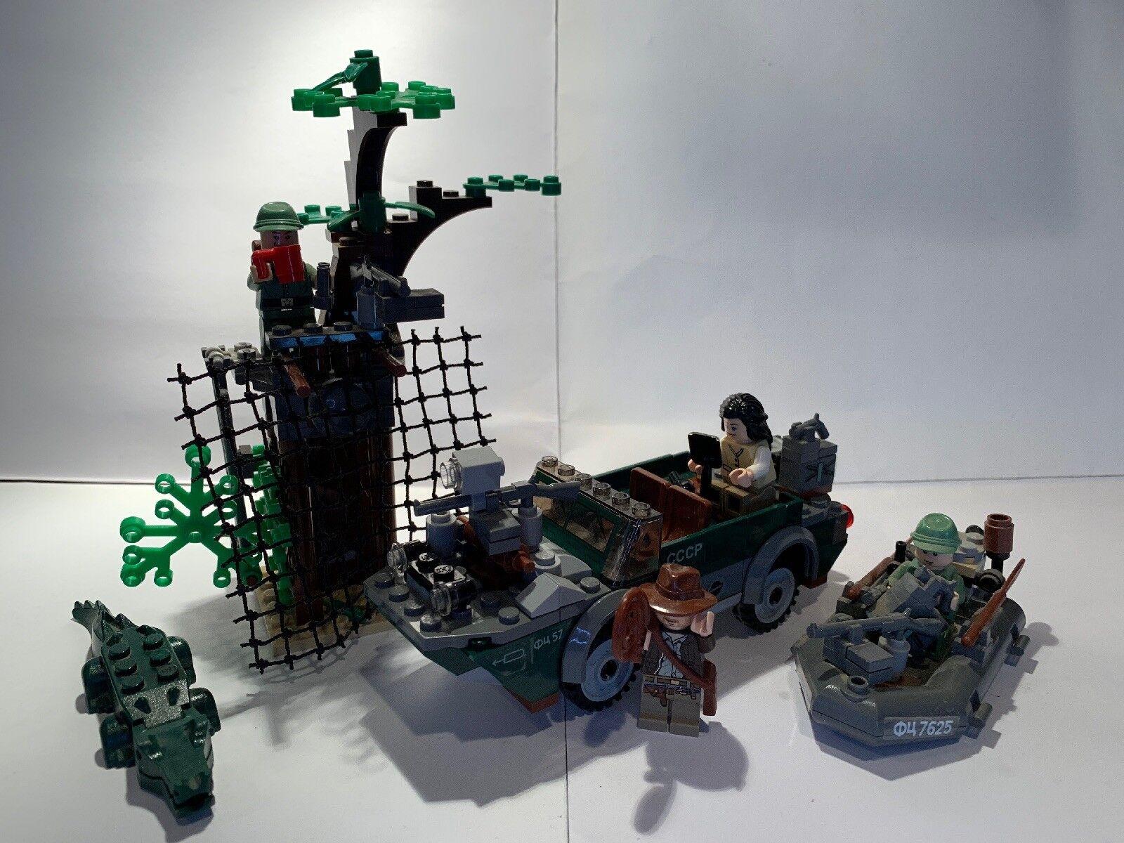 Lego indiana jones fluss chase 7625