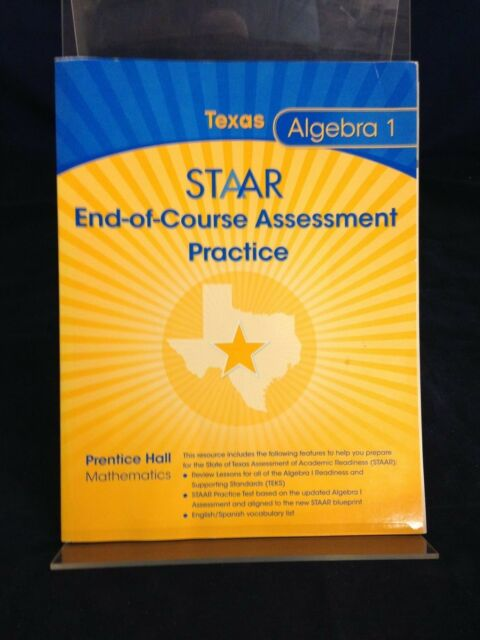 STAAR End-of-Course Assessment Practice Algebra 1(2014) PB ...