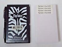 Zebra Flip Notes With Pen And Refill Paper