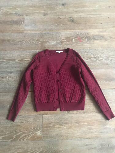 giacca corta Knit £ 8 Jonathan Incredibile Xs Simkhai Maroon cardigan 500 Textured xYax7Rqn