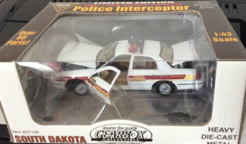 South Dakota Highway Patrol Police Trooper 2001 Ford GearBox FREE SHIPPING
