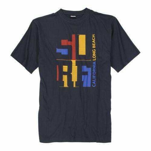 Herren T-Shirt Kurzarm Rundhals Basic Shirt Baumwolle Übergrößen 2XL 12XL