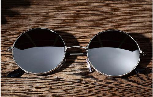 Men Women  Vintage Round Mirrored Sunglasses Eyewear Outdoor Sports Glasses US