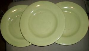 Lot-of-3-Collectible-Home-Dinner-Plates-Spring-Green-11-1-2-034-D