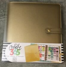 create 365 the happy planner rose gold deluxe cover classic binder